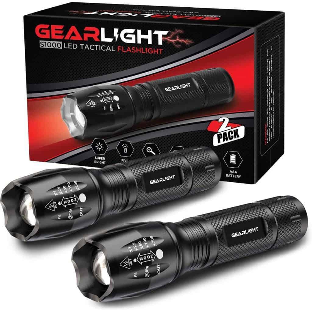 GearLight LED Tactical Flashlight