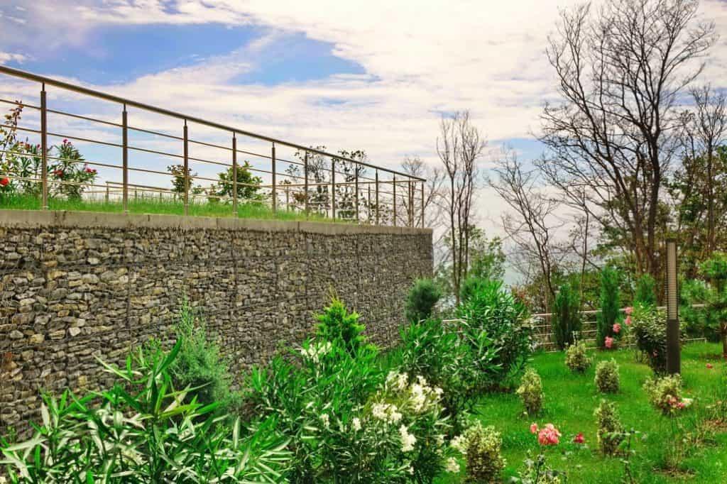 Levelling backyard