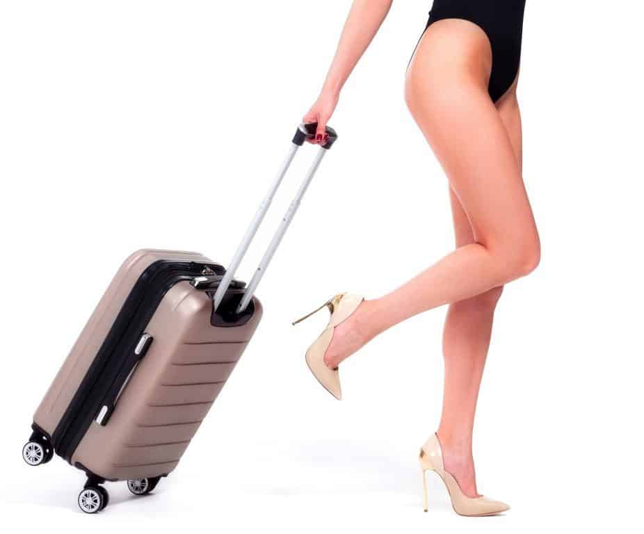 Winfield Luggage woman
