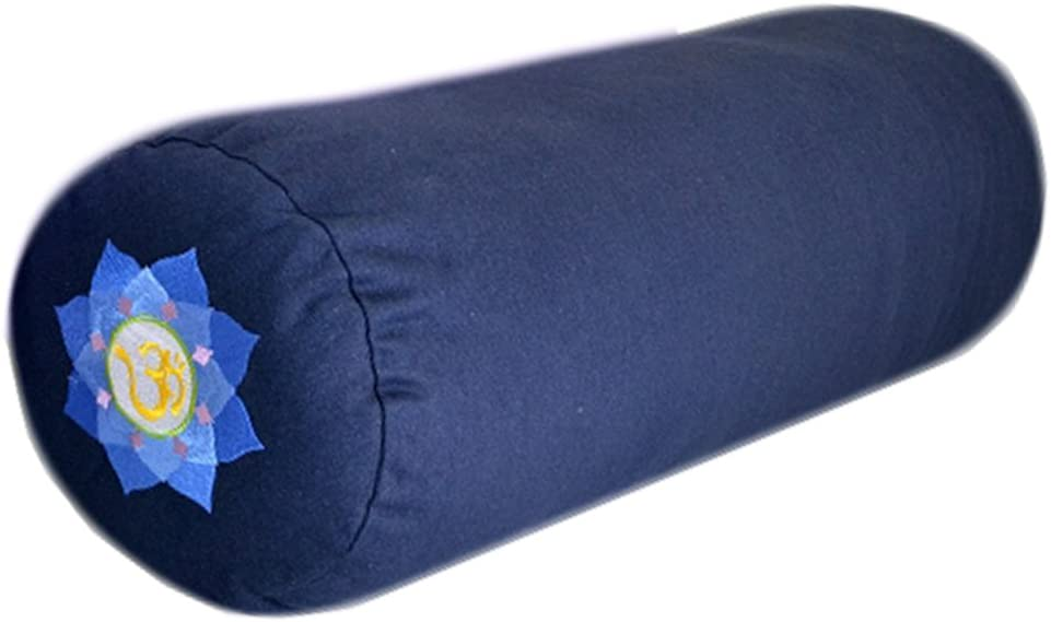 Yoga Accessories Supportive Round Cotton Yoga Bolster