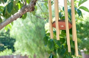 how to restring your wind chimes