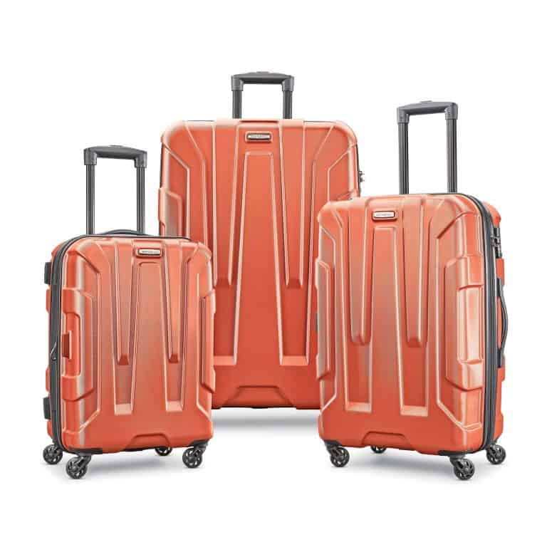 samsonite centric set orange
