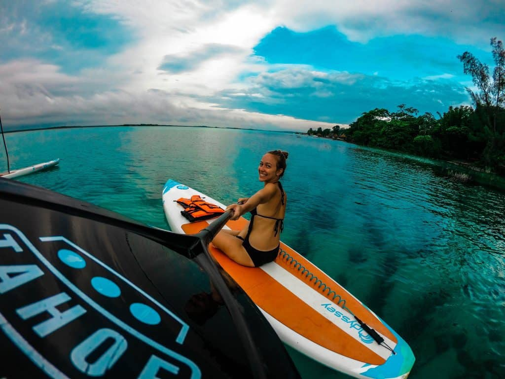 How to Mount and Depart with your Stand-Up Paddle Board