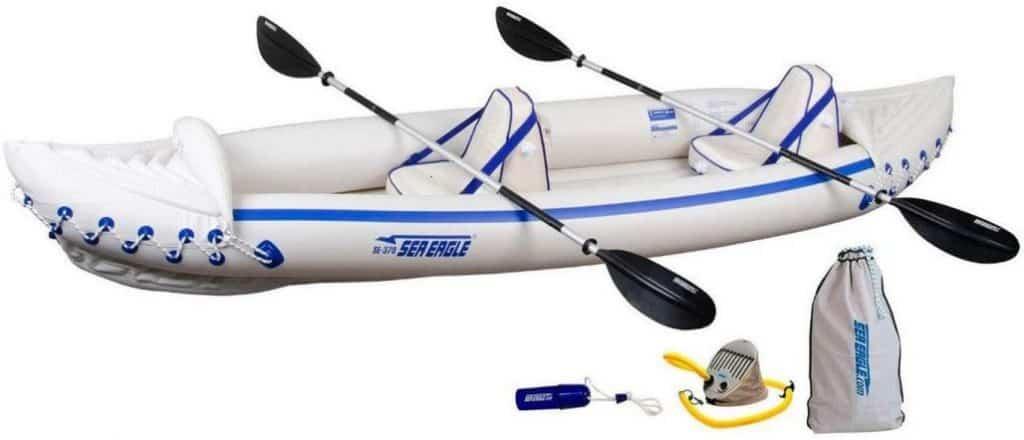 Sea Eagle SE370 Inflatable Sports Tandem Kayak