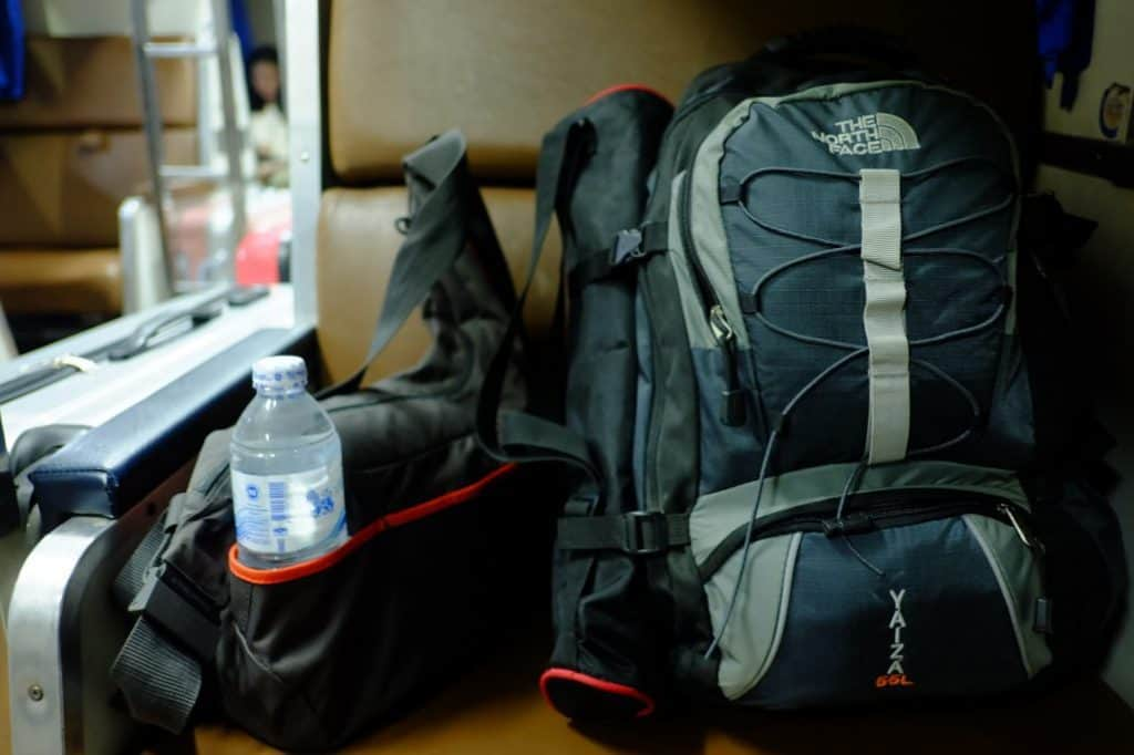 Filling Your Backpack with all Your Worldly Possessions