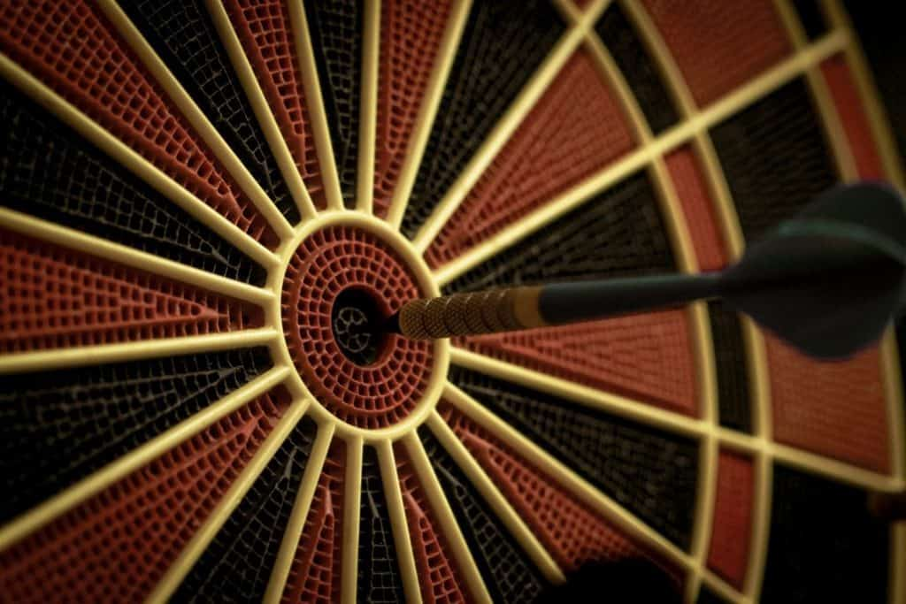 Getting to Know the Dart Board to Develop a Consistent Throw