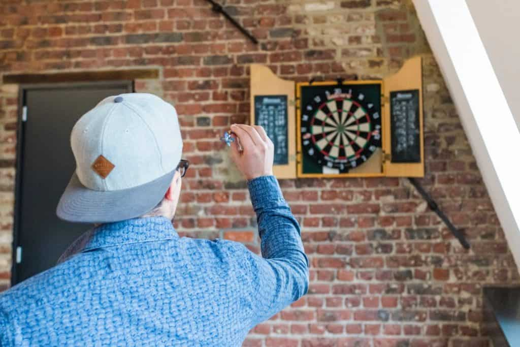 How A Militant Game of Precision Darts Was Modernised by A Carpenter