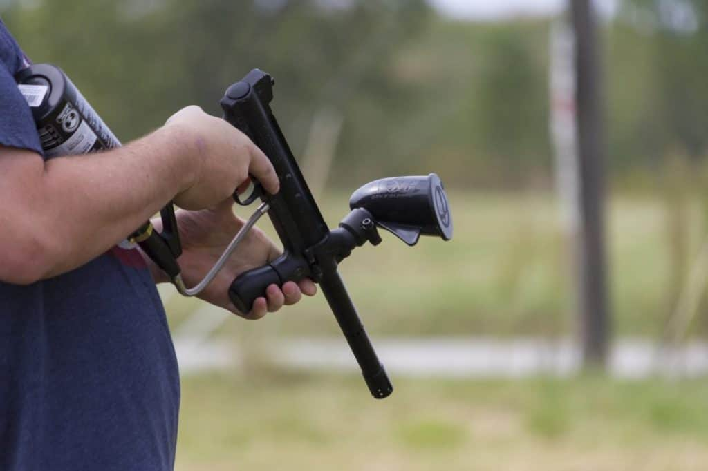 How to Use a Paintball Marker for Self-Defense