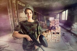 Playing Paintball When Pregnant
