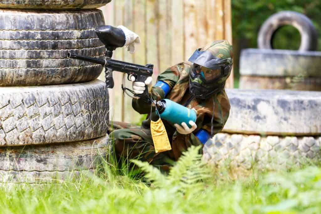 What If You Really Want to Play Paintball