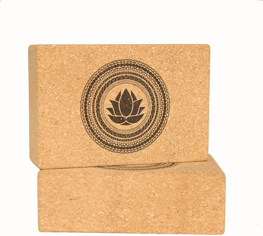 Sukha Designs Natural Cork Yoga Block