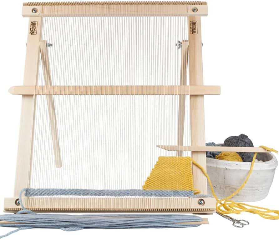 Beka 20″ Weaving Frame Loom with Stand