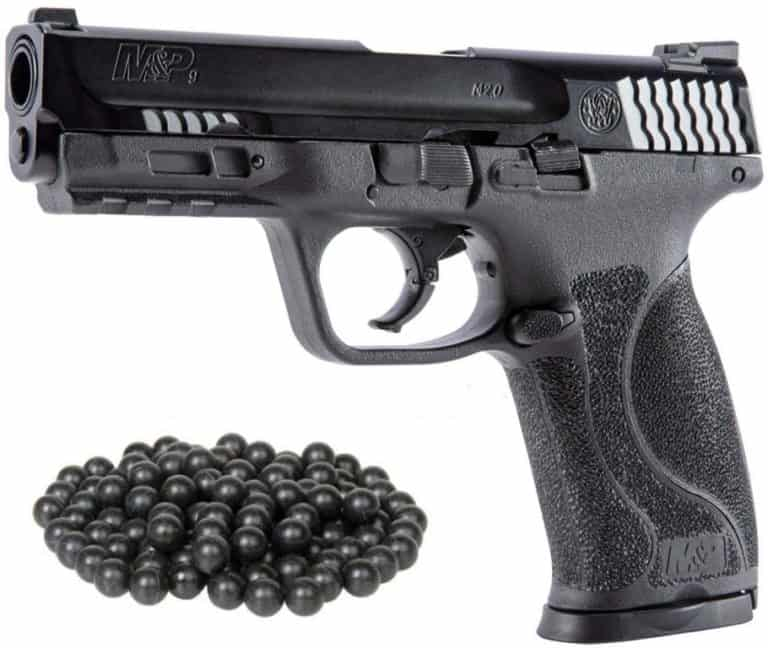 HSA PACKAGE T4E S&W M&P9 M2 .43cal Semi Auto BlowBack Paintball Pistol