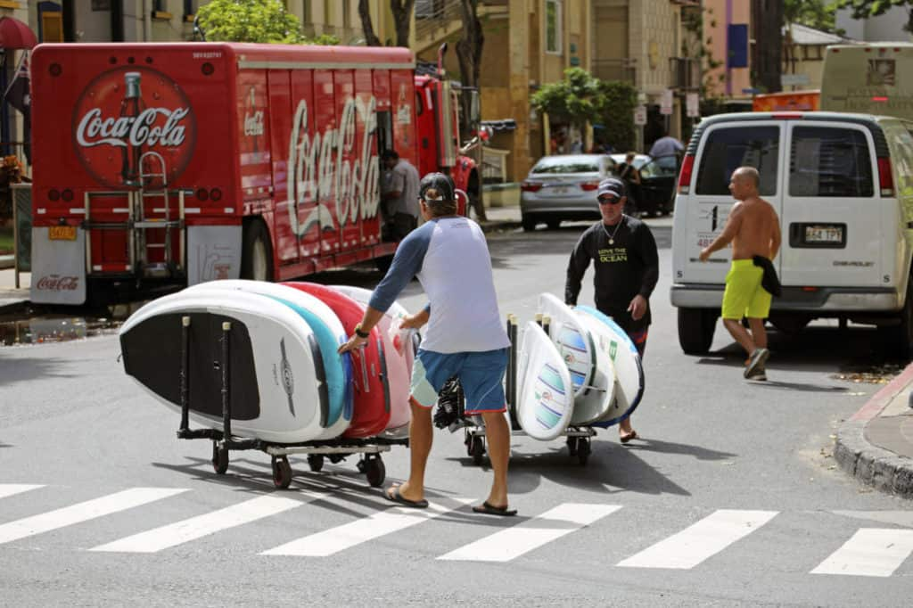 How to Store Your Surf and SUP Boards