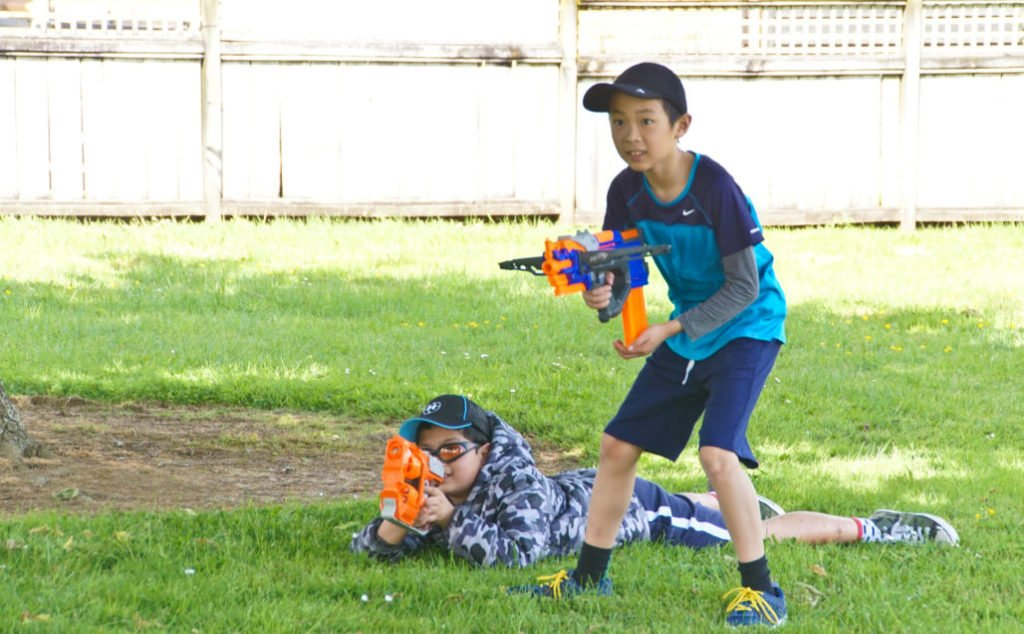 Nerf & Airsoft Play