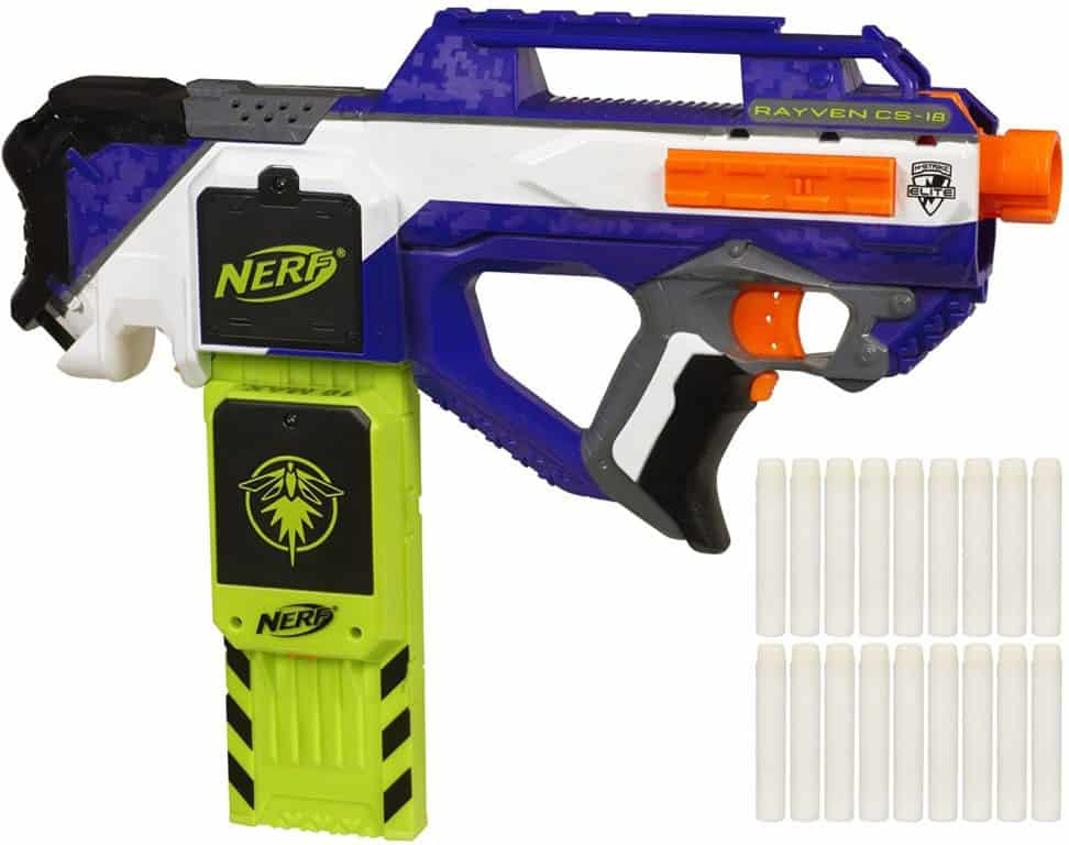 Nerf N-Strike Elite Rayven Cs-18 Blaster