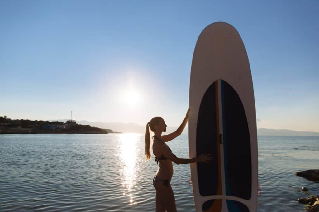 Paddleboard Sizes for Advanced Paddlers (Based on Weight)