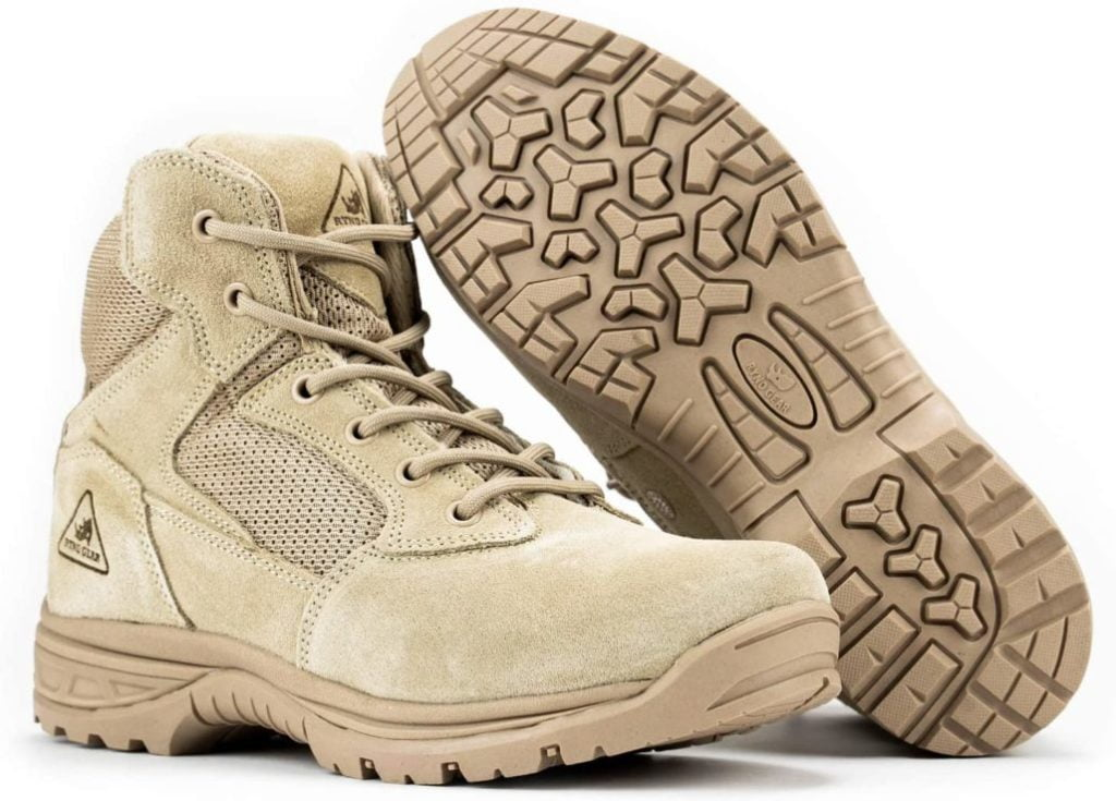 RYNO GEAR Tactical Combat Boots with Coolmax Lining
