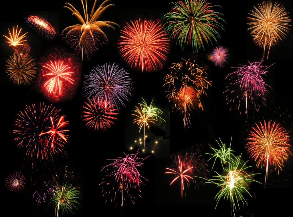 What are the 21 Different Types of Fireworks