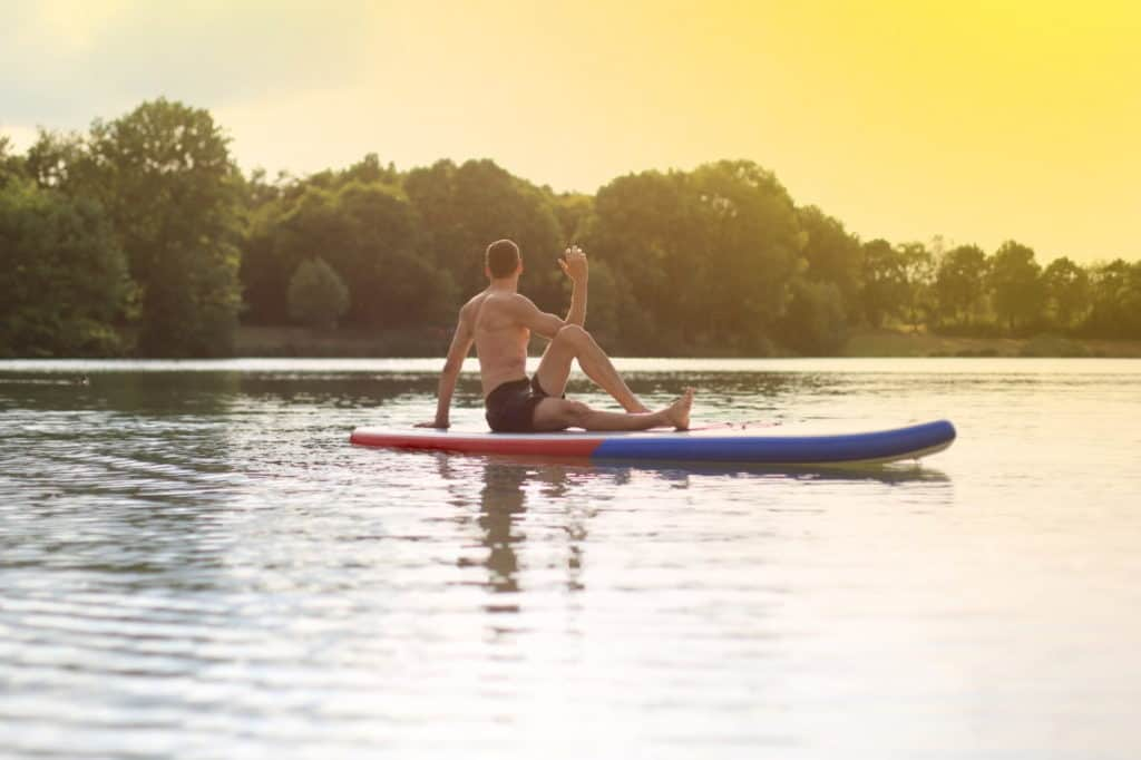 What are the Benefits of SUP Yoga