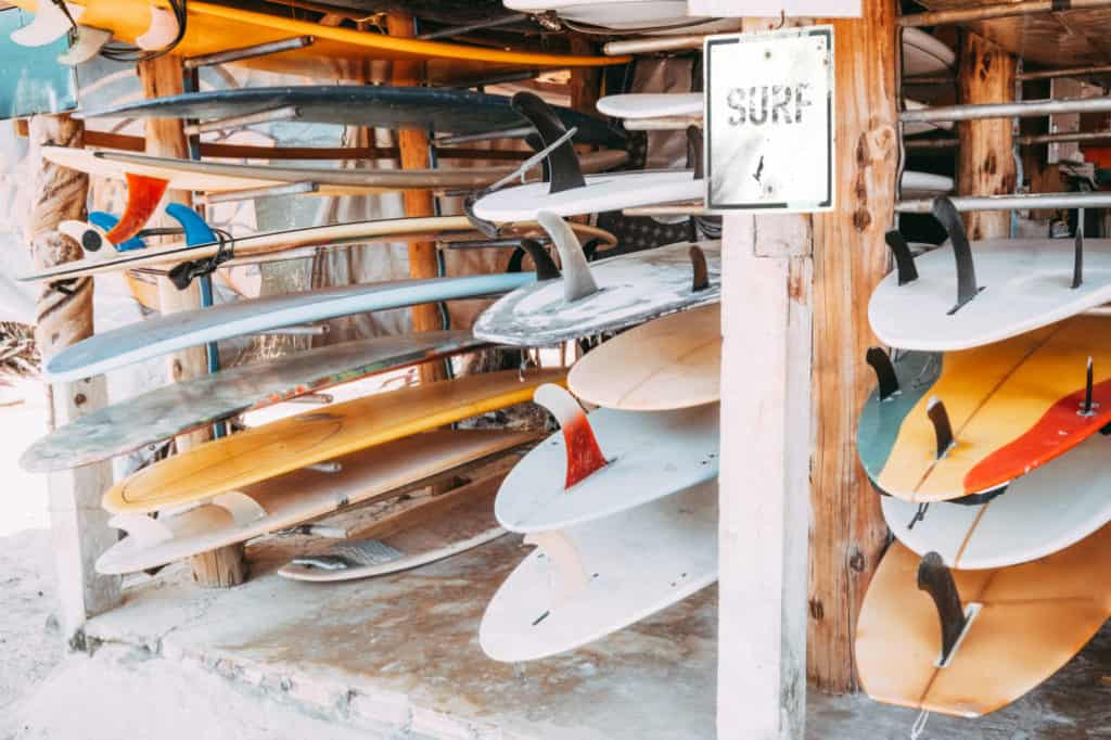 Where to Store Your Surf and SUP Boards