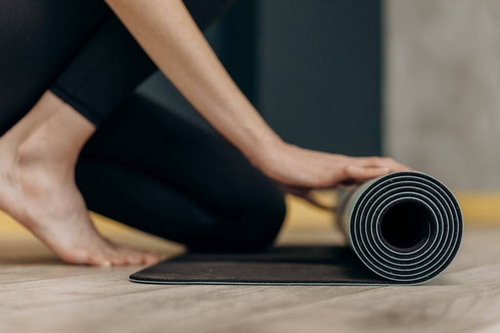 9) Manduka was the very first company to create a non-slip yoga mat.