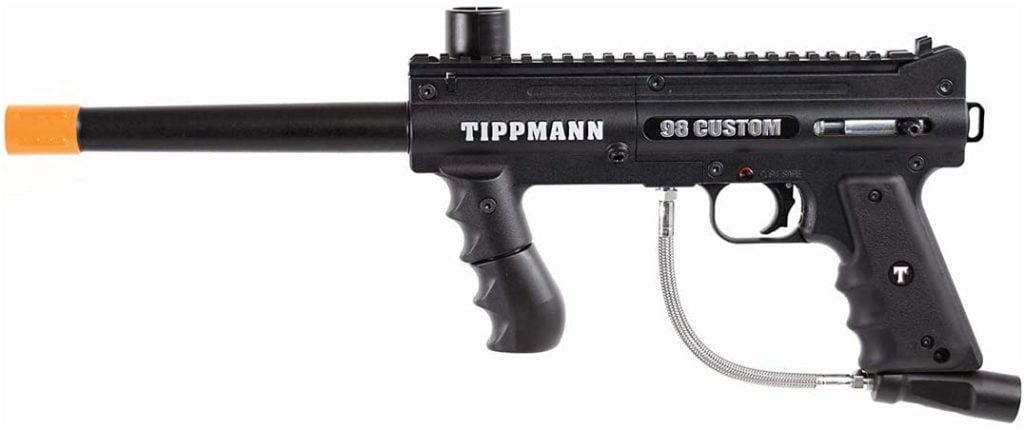A Quick View of the Tippmann 98 Custom