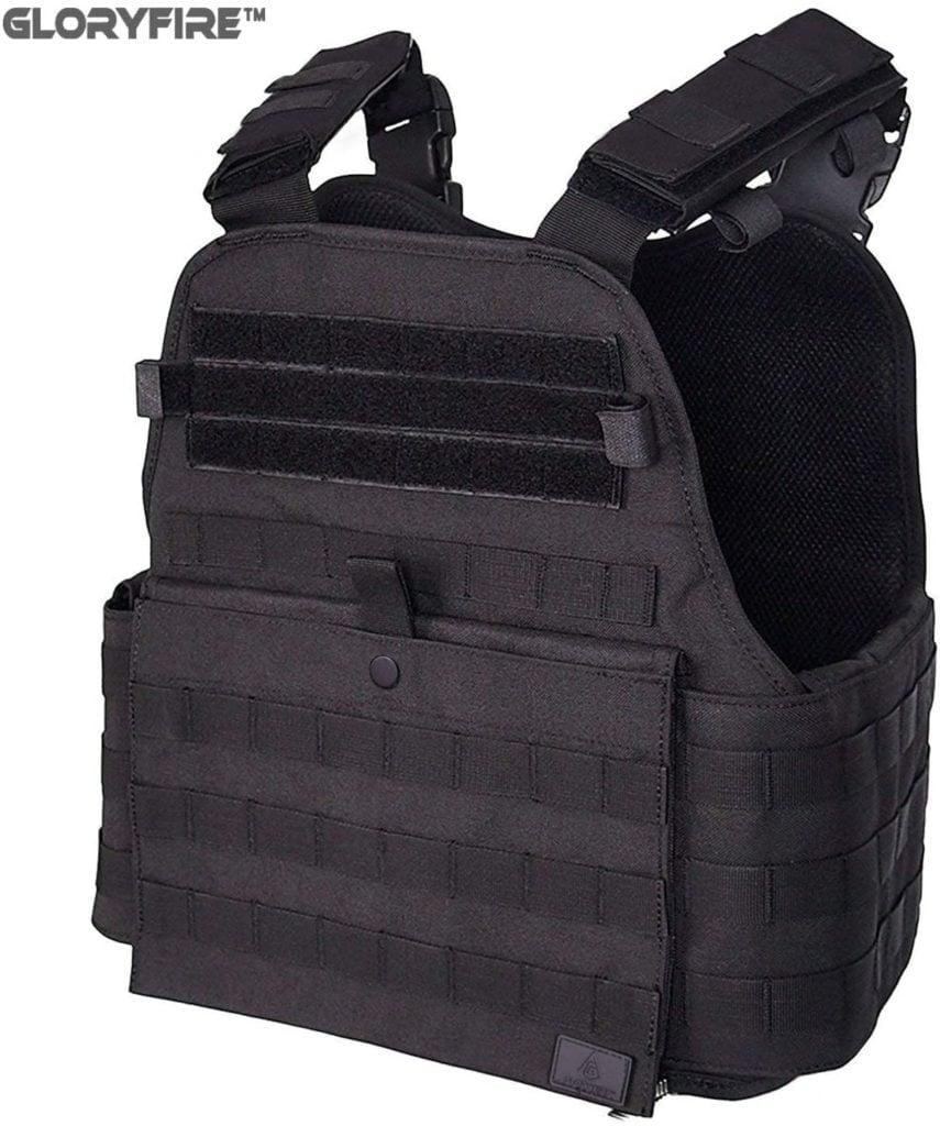 GFIRE Tactical Vest Modular Vest Breathable Combat Training Vest Adjustable Lightweight