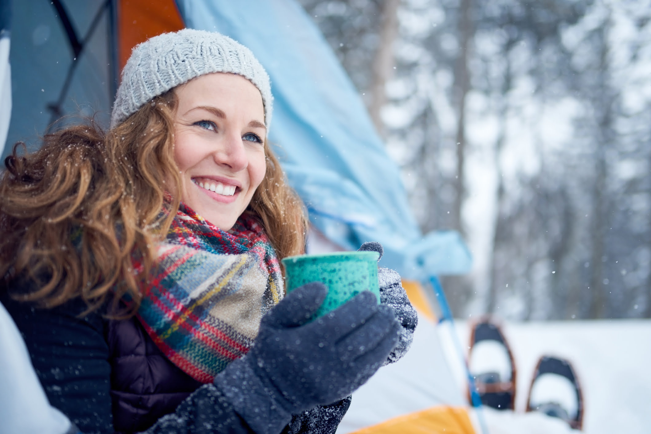 Get Ready For Bed in Winter Camping