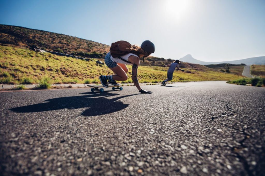 How to Do Downhill Longboarding