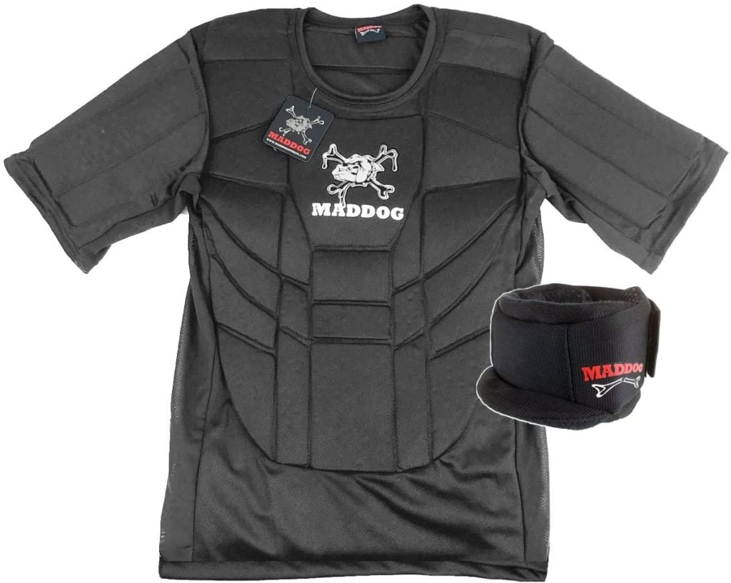Maddog Pro Padded Neck & Chest Protector Combo Pack