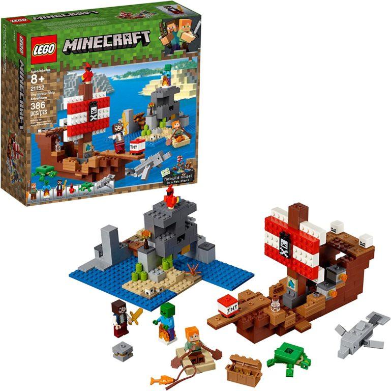Minecraft Pirate Ship Adventure