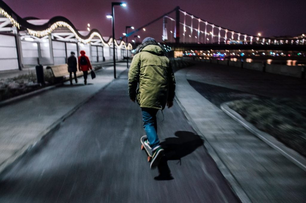 Skateboarding at Night How to Make It Safe