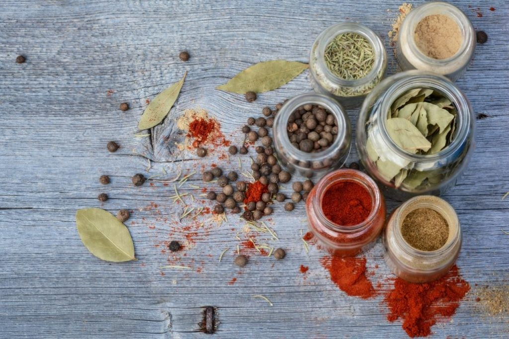 The Types of Spices and the Scoville Pepper Scale