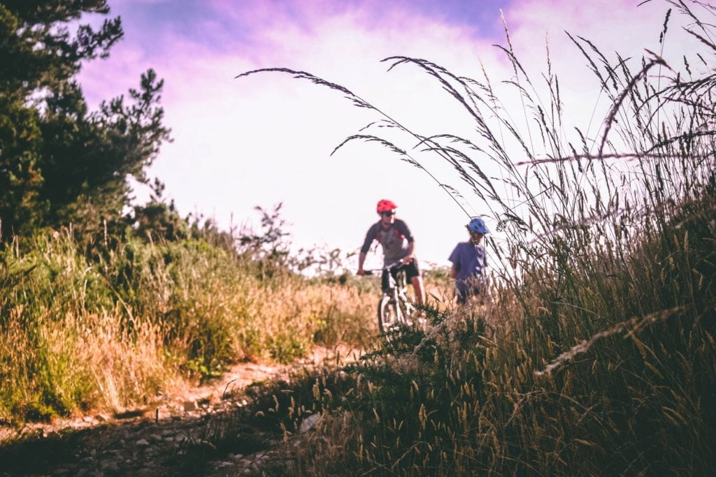 What Are the Benefits Behind Trail Biking a Mountain