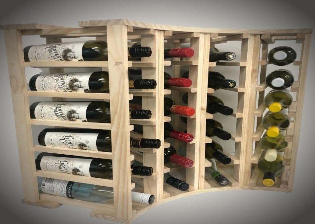 Column Rack Wine Holder