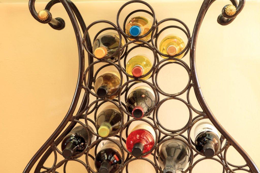 Free-Standing Wine Rack System