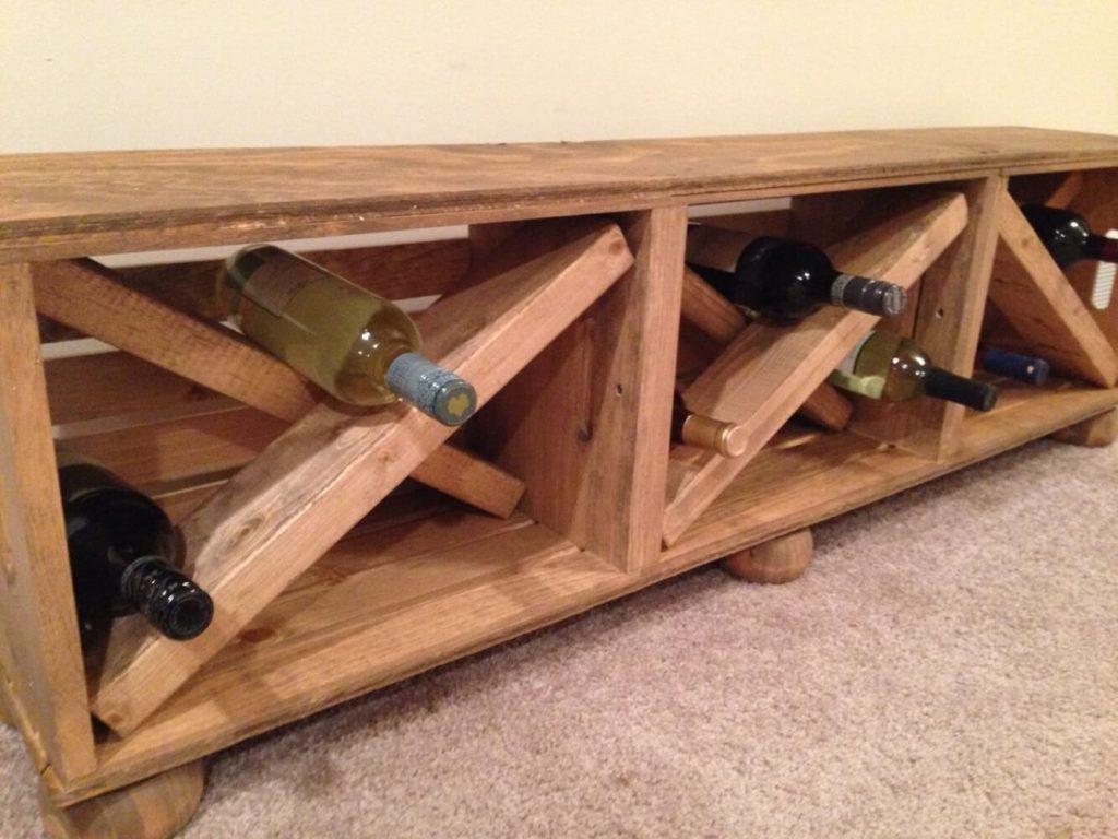 Hallway Wine Bench