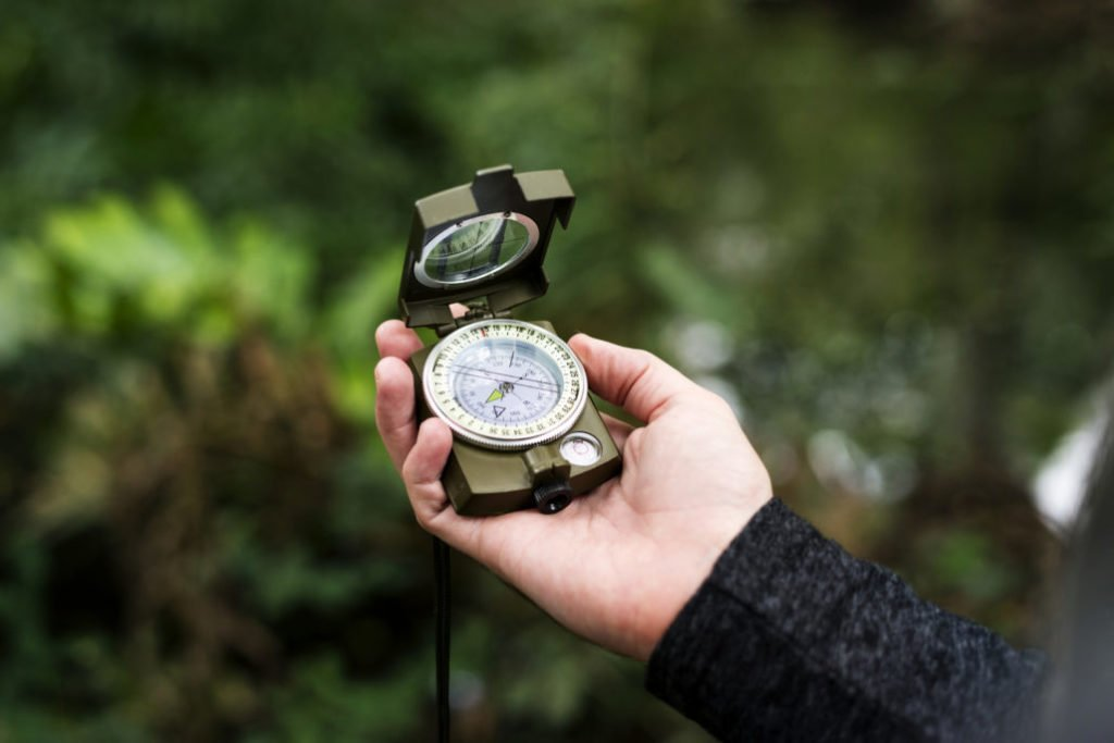 Hikers Emergency Compass