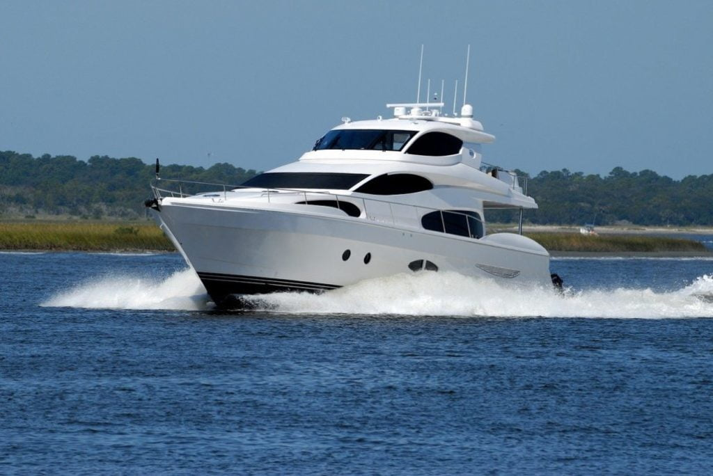 The Aft Cabin Motor Yacht