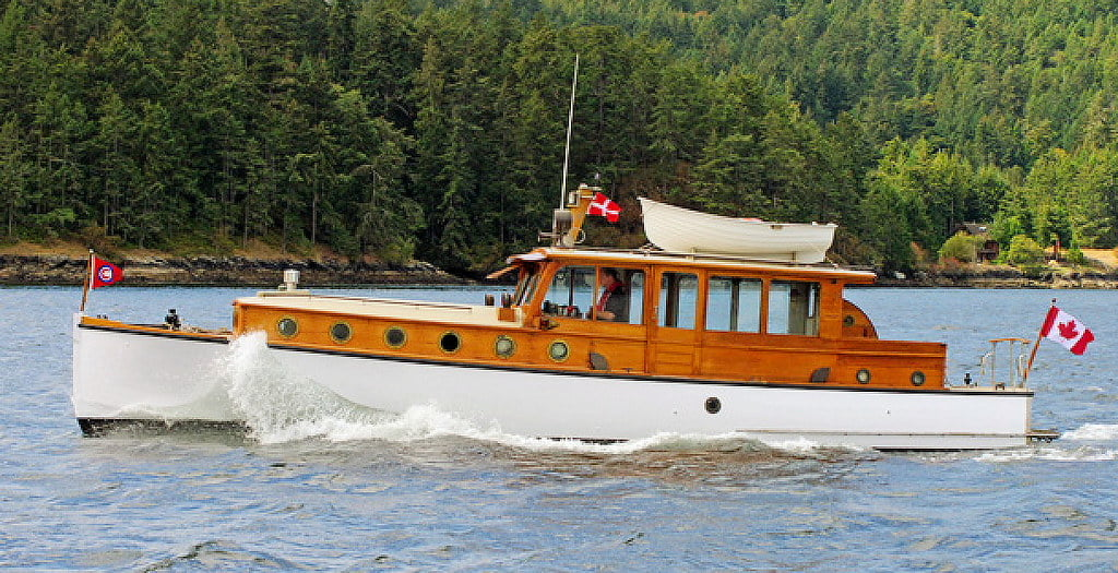 The Classic Wooden Motor Yacht