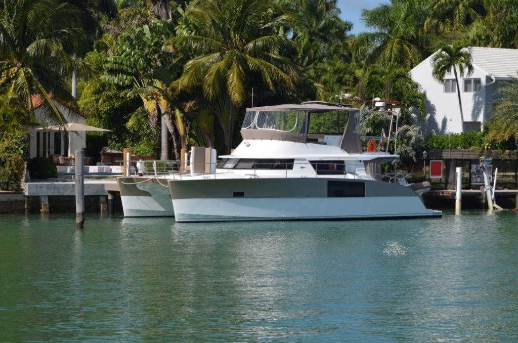 The Power Catamaran Yacht