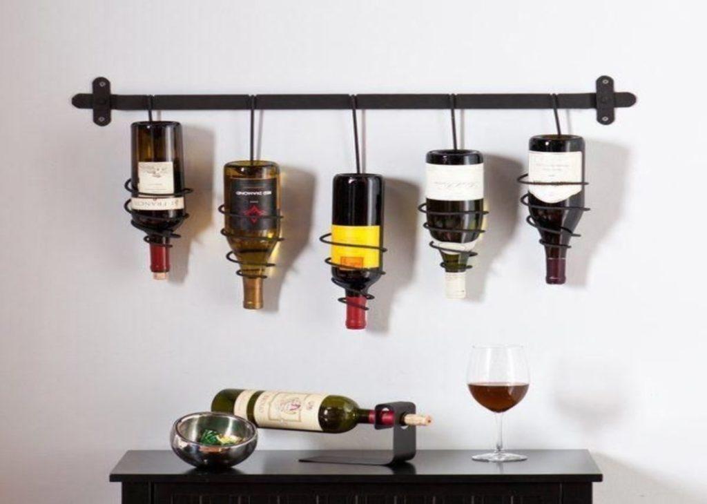 Upside-Down wine Holder
