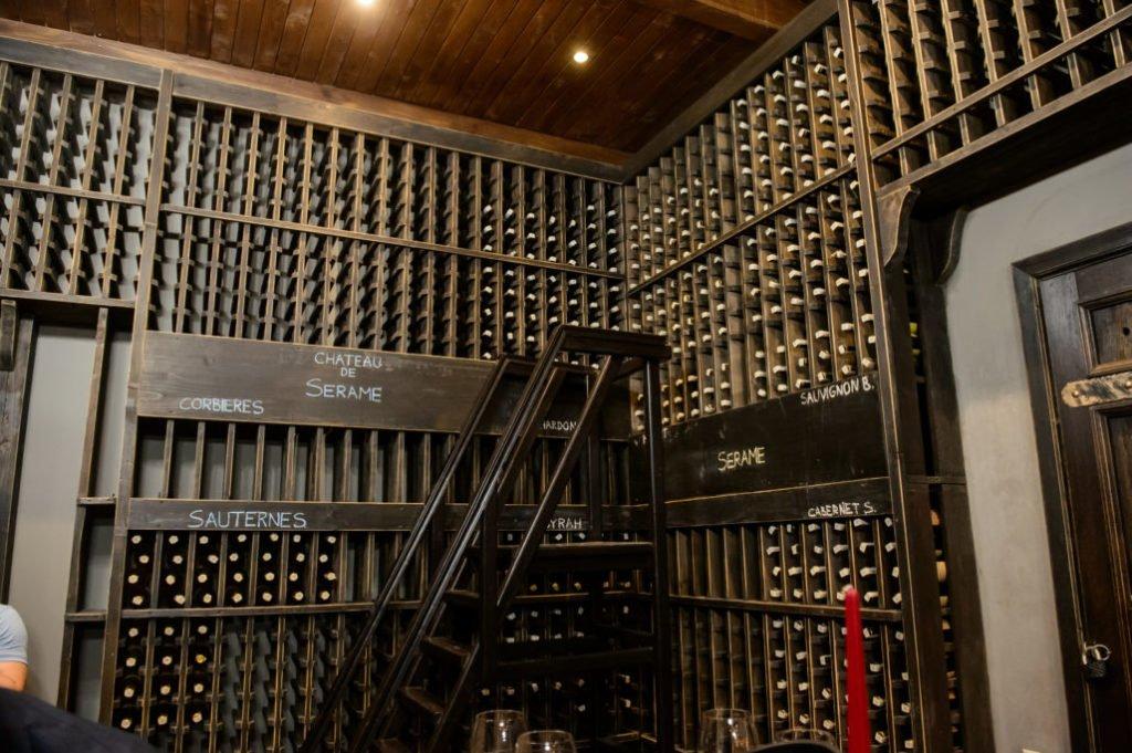 Walk-In Wine Vault