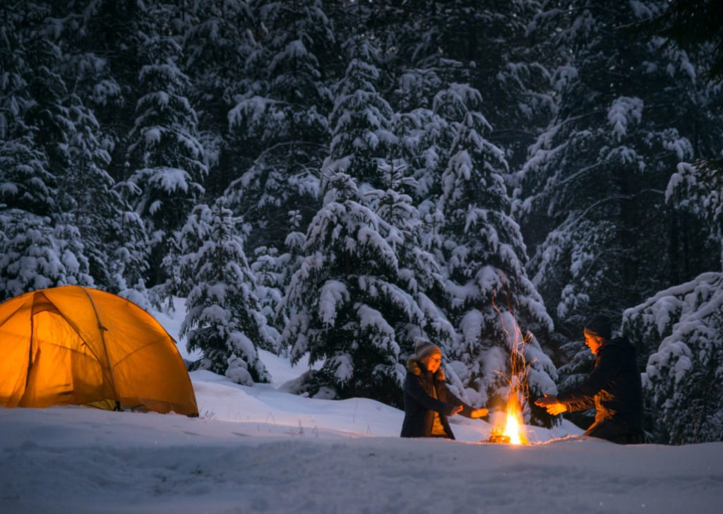 winter camping clothing system